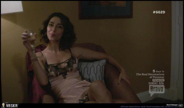models Necar Zadegan 21 years Without brassiere photoshoot home