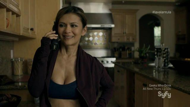 Naked Nia Peeples photoshoot