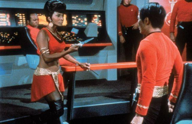 actress Nichelle Nichols 24 years raunchy image in the club