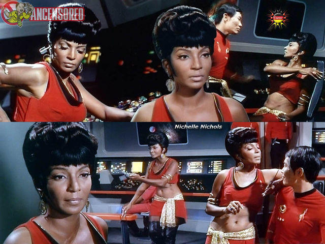 Naked Nichelle Nichols photo