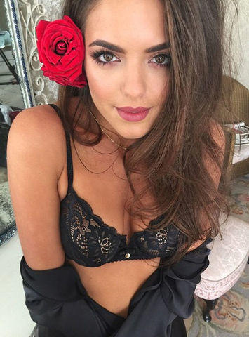 Olympia Valance topless art