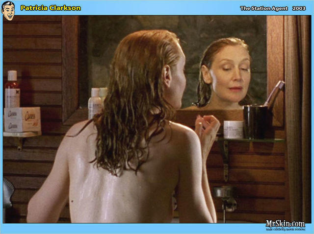 actress Patricia Clarkson 23 years breasts pics home