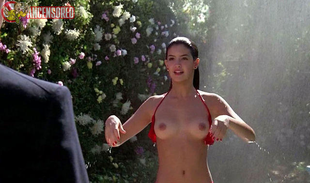 actress Phoebe Cates 20 years sensual snapshot home
