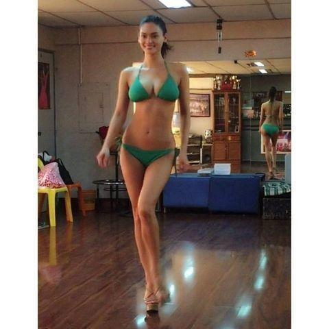 celebritie Pia Wurtzbach 19 years sexual photo home