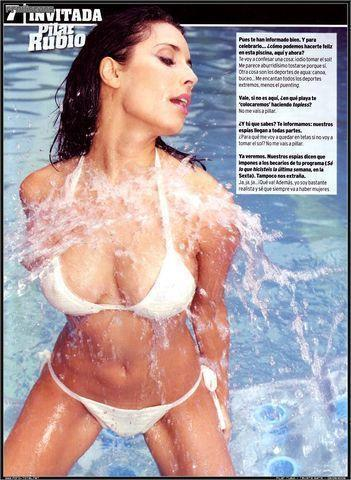 Hot photo Pilar Rubio tits