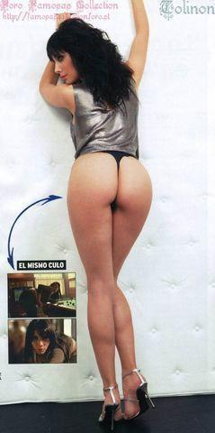 actress Pilar Rubio 22 years bare-skinned photo in the club