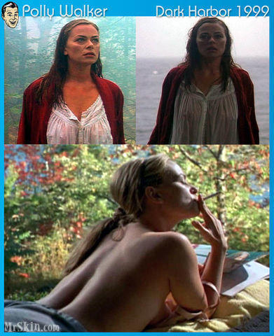 actress Polly Walker 18 years raunchy image beach