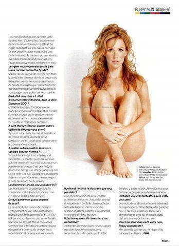 celebritie Poppy Montgomery 22 years provoking photos in public