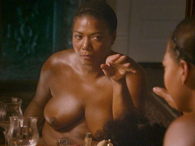 Naked Queen Latifah photo