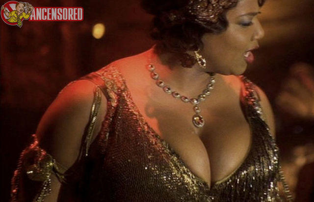 Queen Latifah topless image