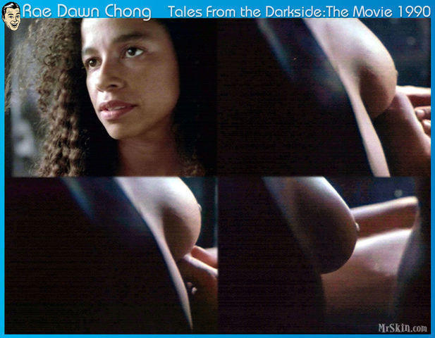 actress Rae Dawn Chong young Without swimming suit picture in the club