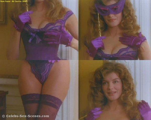 celebritie Rene Russo 19 years voluptuous photography in public