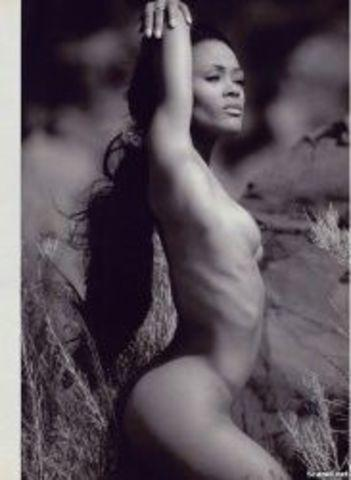 Naked Robin Givens photography