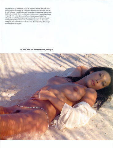 actress Robine van der Meer 24 years k naked photo home