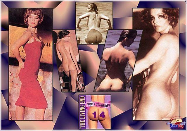 Hot picture Romy Schneider tits