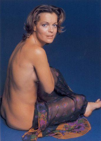 models Romy Schneider 18 years undressed photoshoot in the club