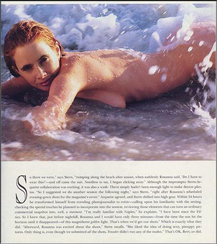 actress Rosanna Arquette 19 years naturism photo in the club
