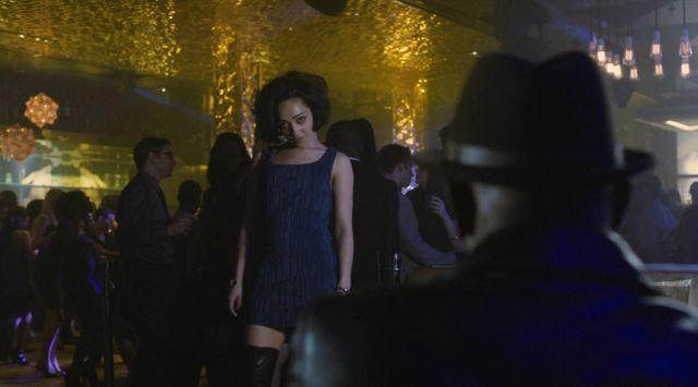 actress Ruth Negga 25 years sensual snapshot in the club