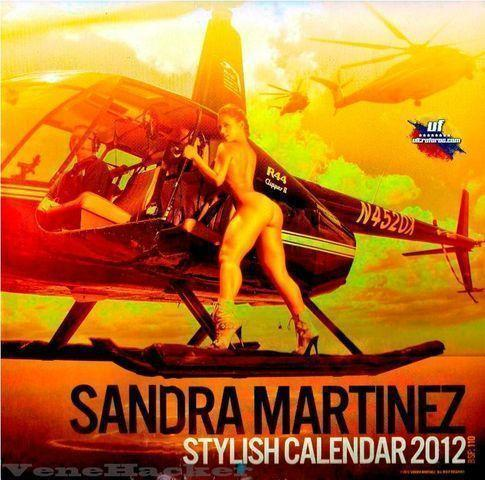 celebritie Sandra Martínez 24 years lecherous photos beach