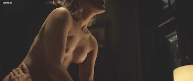 Sarah-Sofie Boussnina topless picture