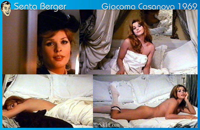 Senta Berger topless photography