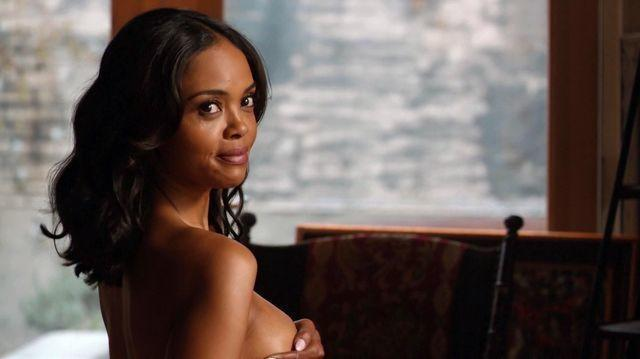 Sharon Leal topless photo