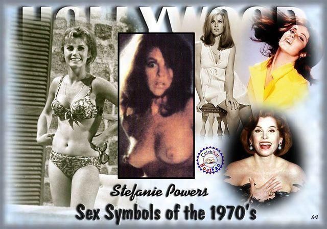actress Stefanie Powers 19 years provocative photos beach