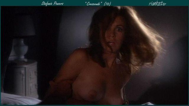 Stefanie Powers topless snapshot