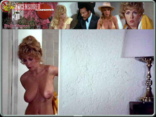 celebritie Stella Stevens 20 years bared photo in public