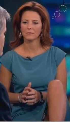 celebritie Stephanie Ruhle 23 years provoking picture in public