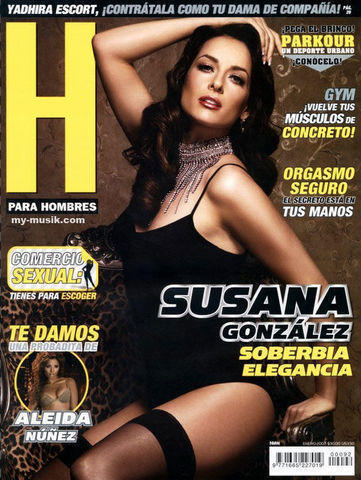 celebritie Susana González 24 years carnal picture beach