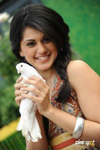 celebritie Taapsee Pannu young bareness art beach