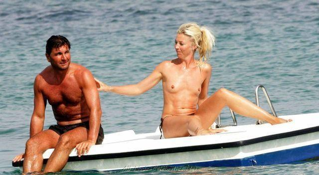 actress Tamara Beckwith 18 years spicy image beach