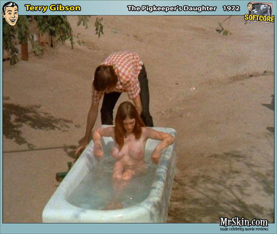 Terry Gibson topless photos