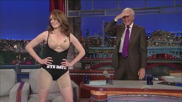 actress Tina Fey 22 years concupiscent photography in public