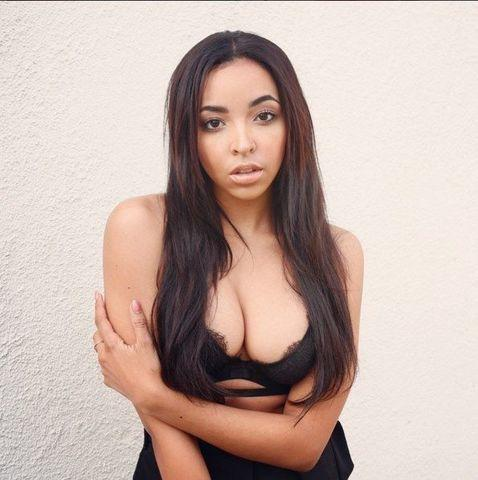 models Tinashe Kachingwe 21 years provocative art in the club