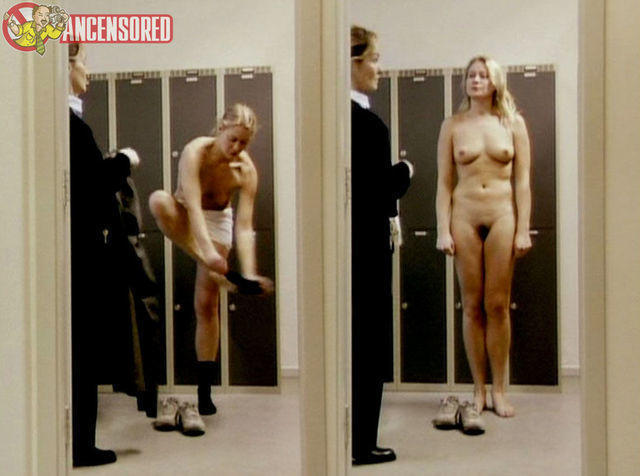 actress Trine Dyrholm 25 years the nude photography in the club