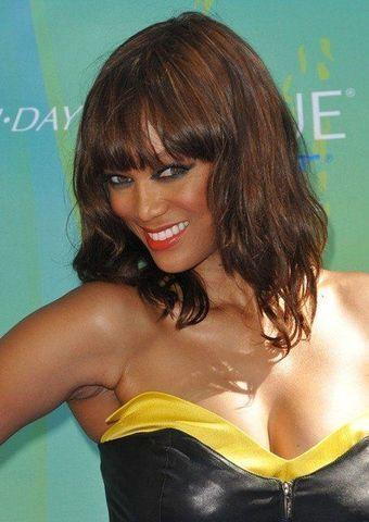 models Tyra Banks 2015 titties picture beach