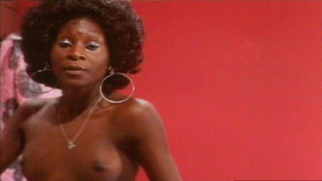 models Unknown black girl young k naked picture in public