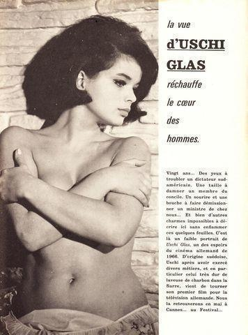 Hot photography Uschi Glas tits