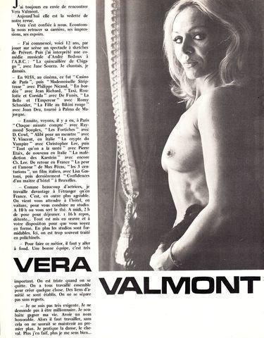 Véra Valmont nude photography