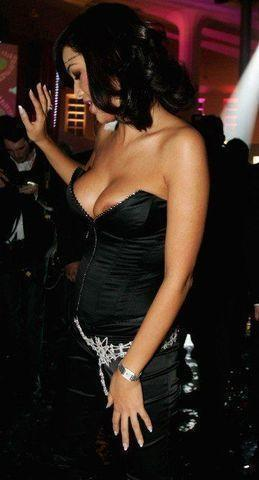 actress Verona Pooth 21 years undressed photoshoot in the club