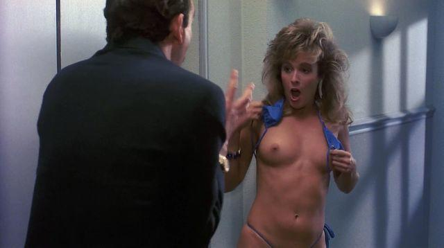 actress Vickie Benson young tits image in public