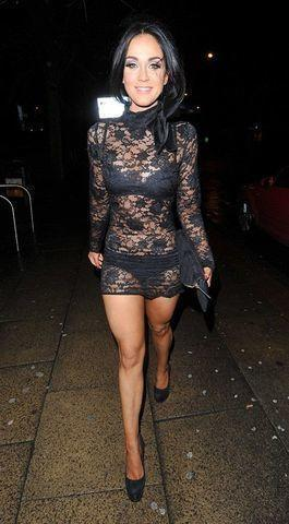 actress Vicky Pattison 19 years indelicate photos in public