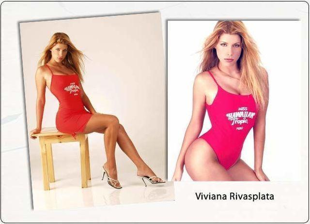 actress Viviana Rivasplata 20 years bare photoshoot in the club