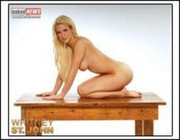 celebritie Whitney St. John teen bare-skinned art beach