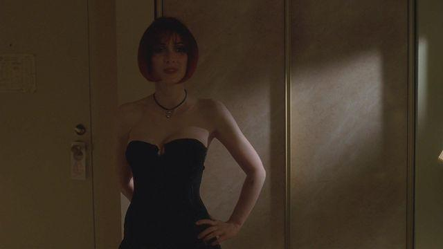 actress Winona Ryder young nudity photo in the club