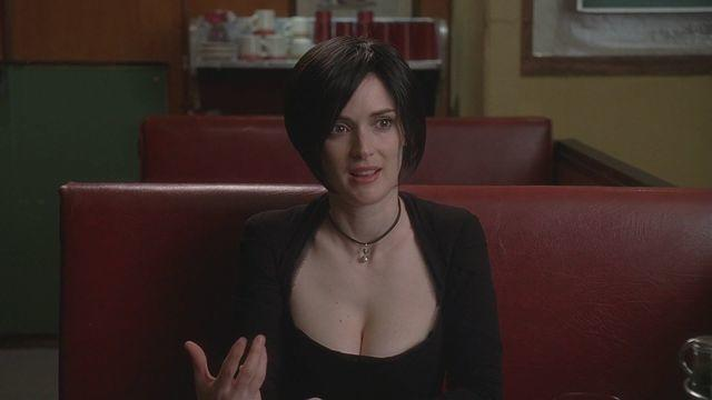 celebritie Winona Ryder 24 years lascivious snapshot in public