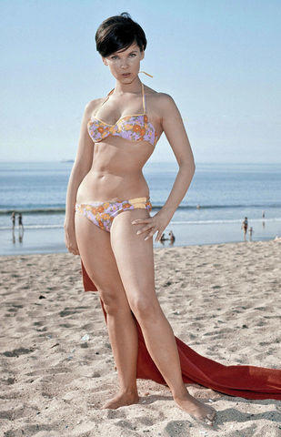 celebritie Yvonne Craig 2015 in one's birthday suit snapshot in public