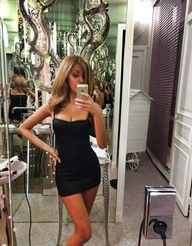 actress Zahia Dehar teen unmasked snapshot in public